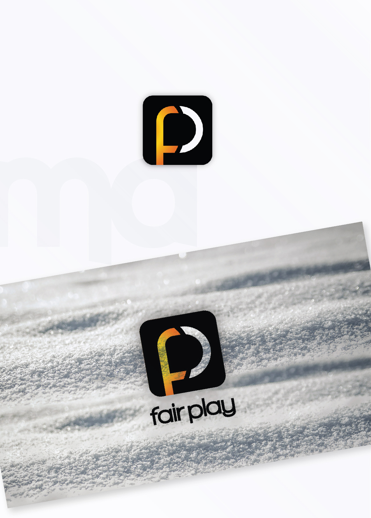 fair play app logo design malaga creative